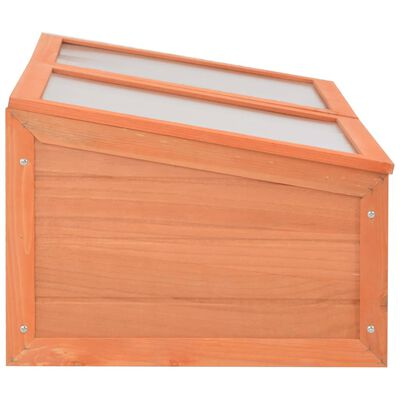 vidaXL Växthus i trä 100x50x34 cm