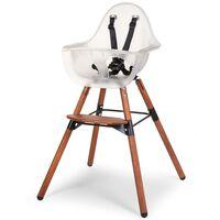 CHILDHOME 2-i-1-barnstol med stötdämpare Evolu 2 transparent