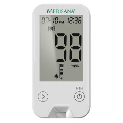 Medisana Blodsockermätare MediTouch 2 vit mg/dL
