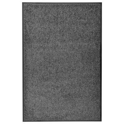 vidaXL Dörrmatta tvättbar antracit 60x90 cm