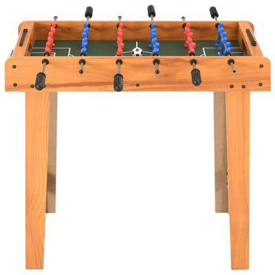 vidaXL Fotbollsbord mini 69x37x62 cm lönn