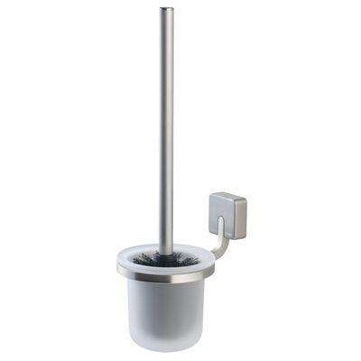 Tiger Toalettborste och hållare Impuls Silver 11x15,3 cm 387530946