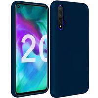 Huawei Nova 5T Skal Mörkblå Silikonskal