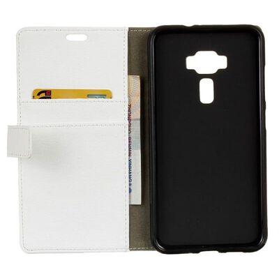 Mobilplånbok 2-kort Asus Zenfone 3 Deluxe (ZS550KL) Vit