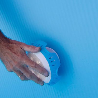 Gre LED-lampa för pooler ovan jord vit och blå LEDRC