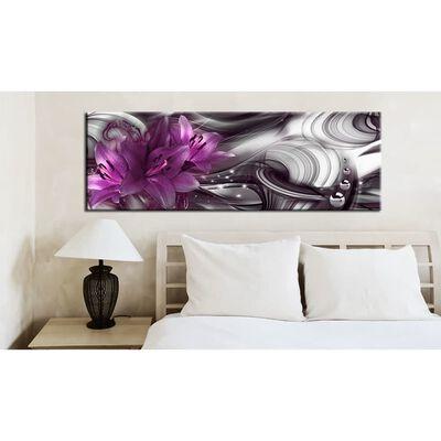 Tavla - Purple Depth - 150x50 Cm