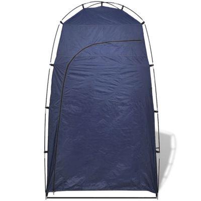 vidaXL Dusch/WC/omklädnings-tält blå