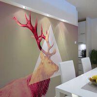 Fototapet - Deer (graphic Pattern) - 300x231 Cm