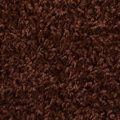vidaXL Trappstegsmattor 15 st 65x25 cm brun