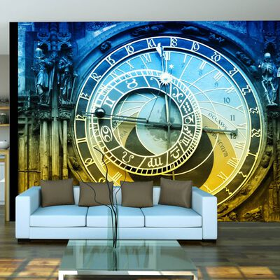 Fototapet - Astronomiska Klockan - Prag - 300x231 Cm