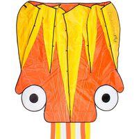 Dragon Fly Drake bläckfisk 124x127cm orange och gul