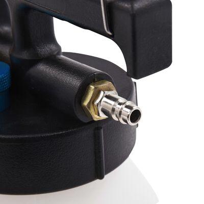 vidaXL Luftdrivet bromsluftningsverktyg med påfyllningsflaska 3,5 L,