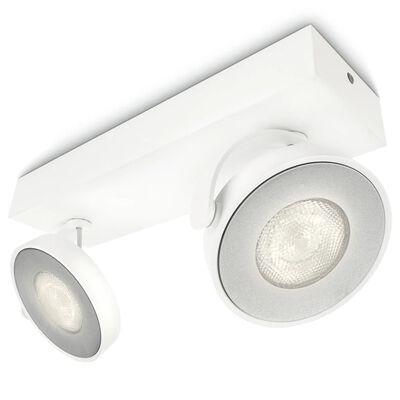 Philips myLiving LED-spotlight Clockwork 2x4,5 W vit 531723116