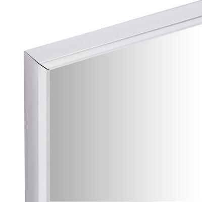 vidaXL Spegel 150x50 cm silver