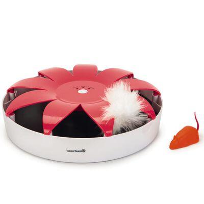 Beeztees Kattleksak Hunty rosa och vit 24,5x6 cm 440636