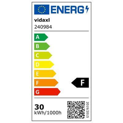 vidaXL Taklampa med trådskärmar för 4 G9-lampor