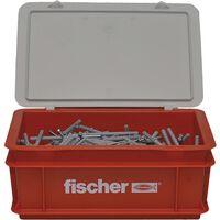 Fischer Spikskruvar set med pluggar N6x60 400 st