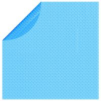 vidaXL Värmeduk pool PE 455 cm blå