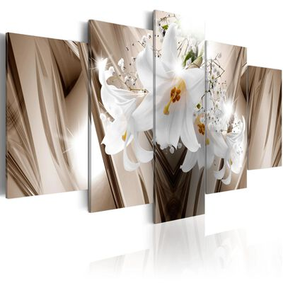 Tavla - Trapped Lily - 100x50 Cm