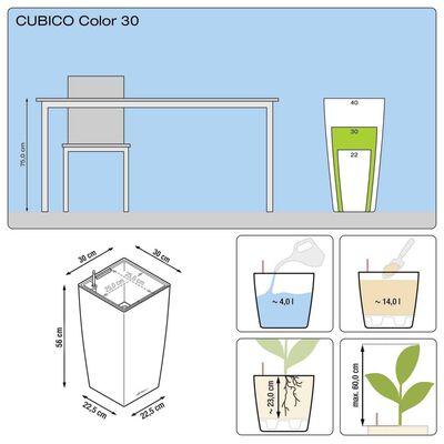 LECHUZA Odlingsenhet Cubico Color 30 ALL-IN-ONE skiffer 13138