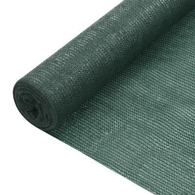 vidaXL Insynsskyddsnät grön 3,6x10 m HDPE 75 g/m²