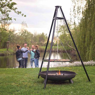 BBGRILL Stativgrill svart 172 cm BBQ TRIPOD,