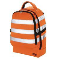 Toolpack Verktygsryggsäck med hög synlighet Guard orange och svart