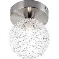 GLOBO LED Spotlight ENIGMA nickel matt 56620-1