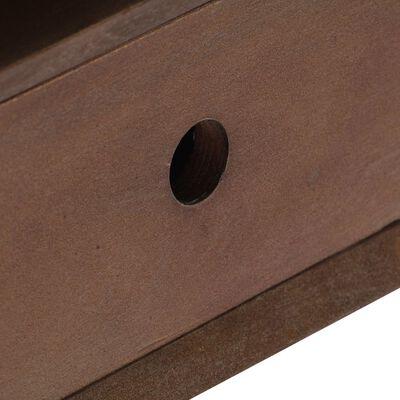 vidaXL TV-bänk 110x35x50 cm massivt återvunnet akaciaträ