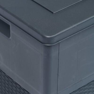 vidaXL Dynbox 320 liter antracit