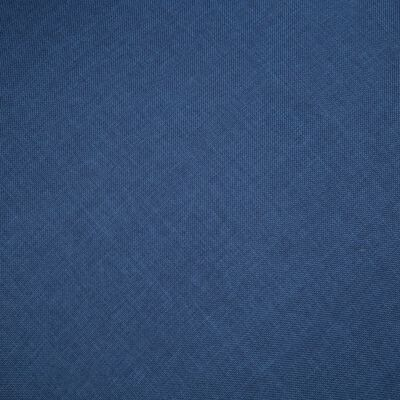 vidaXL 3-sitssoffa tyg blå