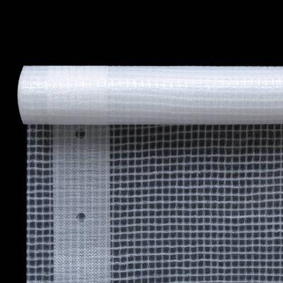 vidaXL Leno presenning 260 g/m² 2x3 m vit