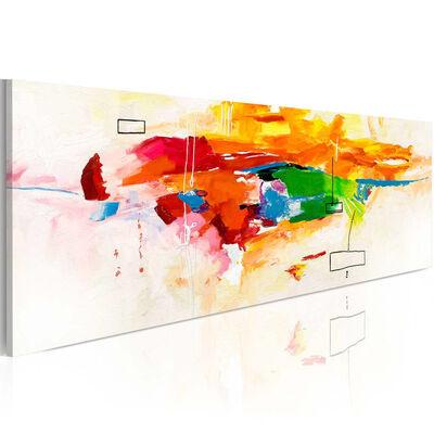 Tavla - Colors Celebration - 120x40 Cm