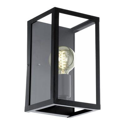 EGLO Vägglampa Charterhouse svart 49394