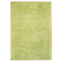 vidaXL Shaggy-matta 140x200 cm grön