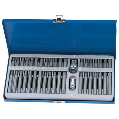 Draper Tools Bitssats insex-, torx- & splinebits 40 st TX-STAR 33322