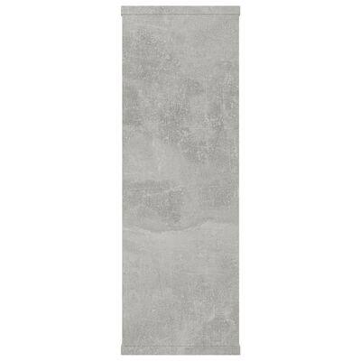vidaXL Vägghyllor betonggrå 104x20x60 cm spånskiva