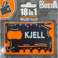 Joker Multitool Multiverktyg KJELL kreditkort betalkort
