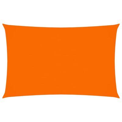 vidaXL Solsegel oxfordtyg rektangulärt 2,5x5 m orange
