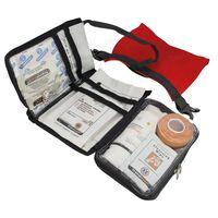 Travelsafe Första hjälpen-kit 43 delar Globe Waterproof röd