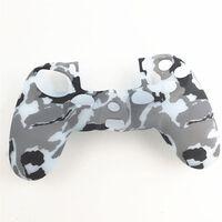 Playstation 4 / PS4 Silikon skal Kamouflage Mörkgrå