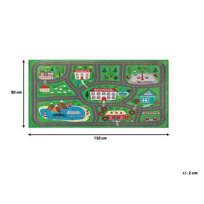 Barnmatta stadsmotiv 80 x 150 cm TUTAK