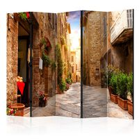 Rumsavdelare - Colourful Street In Tuscany Ii   - 225x172 Cm