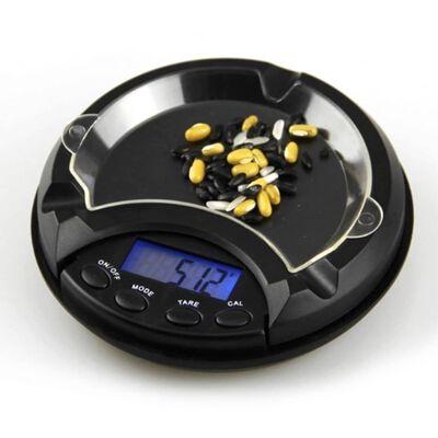 Digital Juvelerare våg 0.01g till 500 gram - Askfat