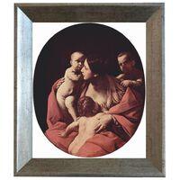 Med ram Christian Charity,Guido Reni,61x51cm