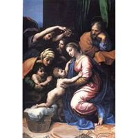 The Holy Family, the Great Holy Family of Francois, Raphael