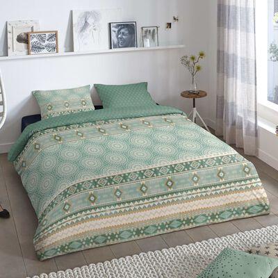 Good Morning Bäddset PITRI 200x200/220 cm grön