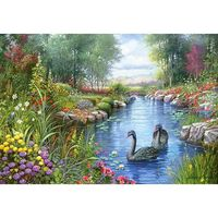 Castorland, Pussel 1500 bitars, Black Swans, Andres Orpinas