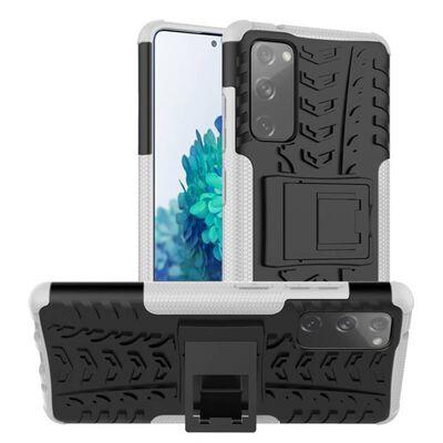 Stöttåligt Skal Med Ställ Samsung Galaxy S20 Fe-grön