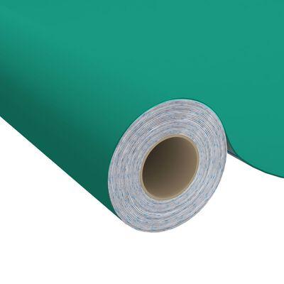 vidaXL Dekorplast 2 st ljusblå 500x90 cm PVC